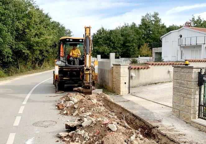 U Cancinima i Kukcima te Červar Portu nastavlja se izgradnja sustava javne rasvjete