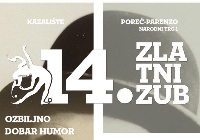 14. ZLATNI ZUB – još četiri predstave od 13. listopada do 3. studenog