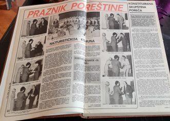 Zavičajni muzej Poreštine kreće s digitalizacijom nekadašnjeg Porečkog glasnika ali i ostalih nekada popularnih lokalnih novina
