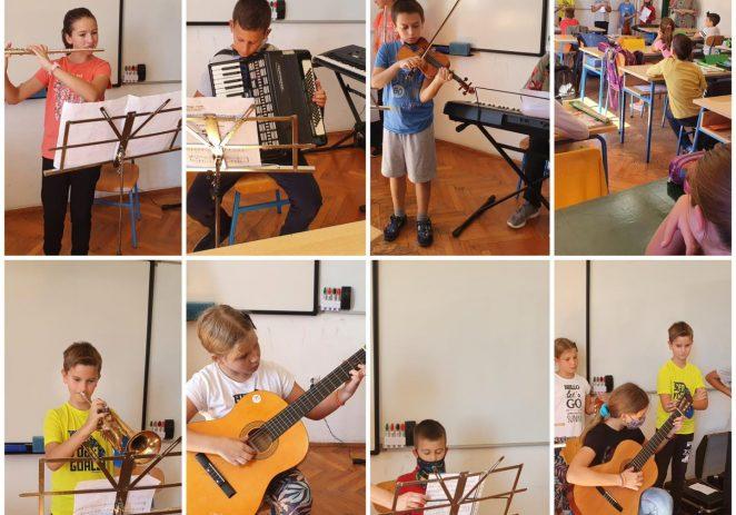 U osnovnoj školi  Joakim Rakovac sv. Lovreč obilježen Međunarodni dan glazbe