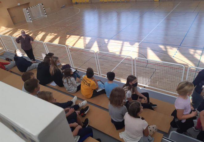 Učenici OŠ V.Nazora Vrsar posjetili načelnike općina Vrsara i Funtane