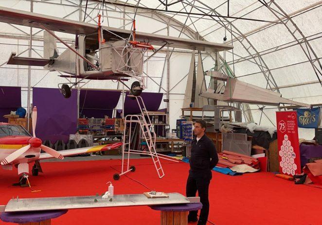 U sklopu Mjeseca poduzetništva u hangaru na Žatiki održana je i prezentacija gradnje aviona