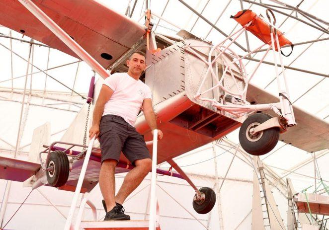 Od ideje do uspjeha – gradnja aviona u Poreču. U ponedjeljak 11. listopada edukativni obilazak hangara na Žatici