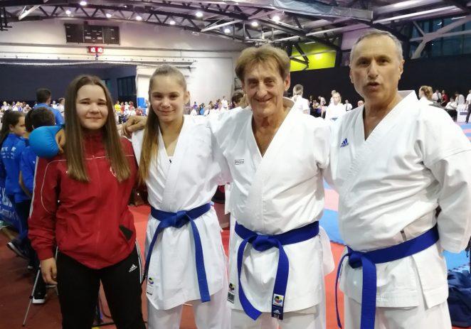 Šest medalja na Croatia openu za Karate klub Finida