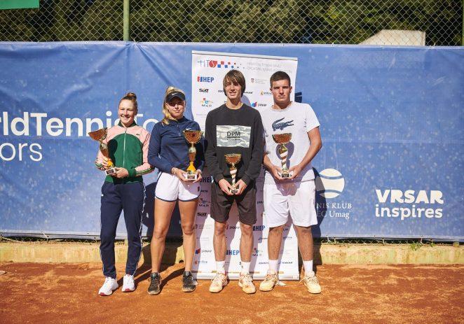 """U Vrsaru završeno 36. izdanje teniskog turnira """"Perin Memorijal"""""""