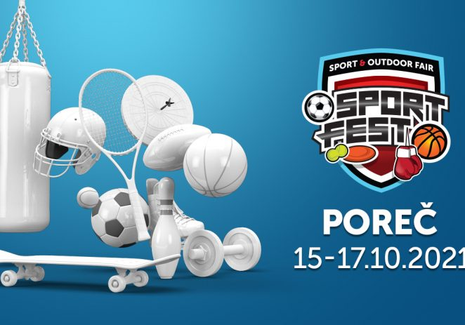 Sport Fest u Poreču od 15. do 17. listopada